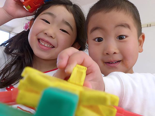 河輪幼稚園の教育方針 明るく素直で、だれとでも遊べる子に。
