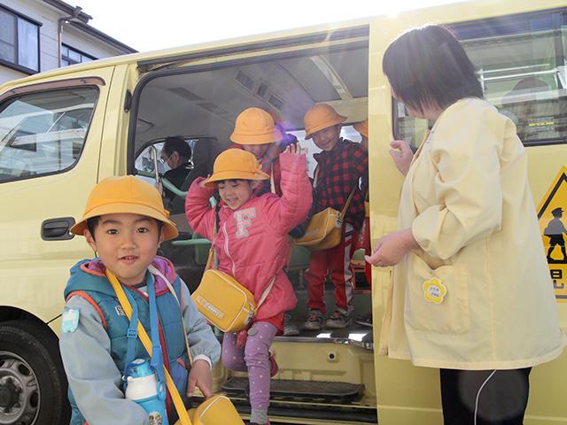 河輪幼稚園 表彰式の様子